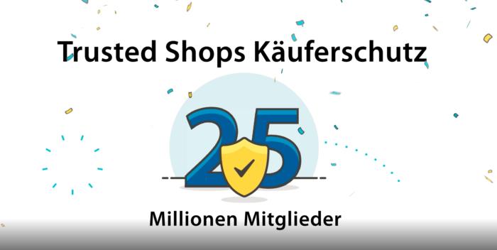 Trusted Shops: 25 Millionen Mitglieder