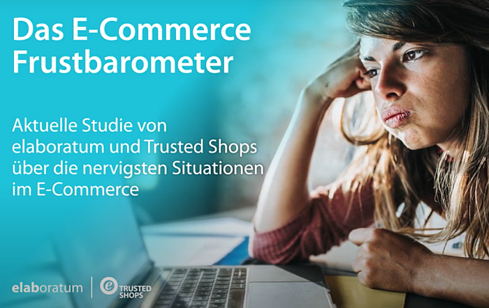 Trusted Shops E-Commerce-Frustbarometer